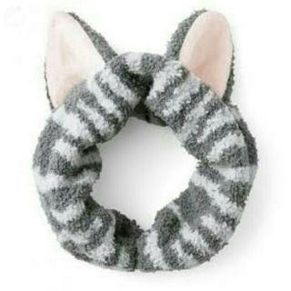 フェリシモ(FELISSIMO)のキュートなヘアバンド❤ なりきりにゃんこ 猫耳もふもふヘアターバン(ヘアバンド)