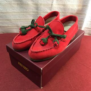ケンゾー(KENZO)のKENZO ケンゾー チューリップ タッセル 靴 正規品(スリッポン/モカシン)