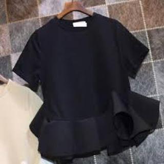 バーニーズニューヨーク(BARNEYS NEW YORK)のYOKOCHAN♡フリルトップス38(Tシャツ(半袖/袖なし))
