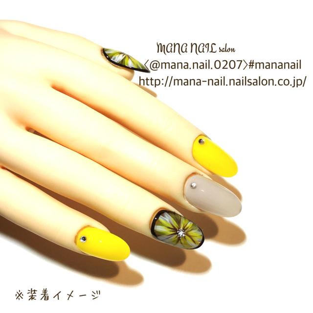 (49)新作【ご購入後制作】サイズ変更可能 コスメ/美容のネイル(つけ爪/ネイルチップ)の商品写真