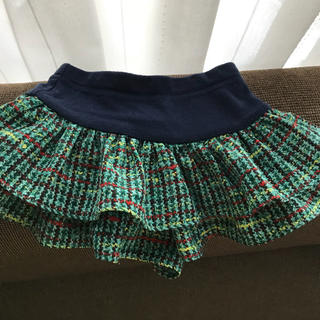 アナスイミニ(ANNA SUI mini)のANNA SUI mini キュロットスカート(スカート)