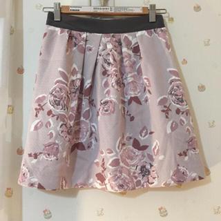 プロポーションボディドレッシング(PROPORTION BODY DRESSING)のプロポ 花柄スカート(サイズ2)(ひざ丈スカート)