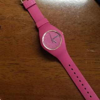 アイスウォッチ(ice watch)のice watch ピンク(腕時計)
