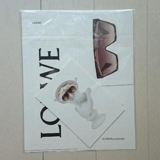ロエベ(LOEWE)のロエベ ステッカー LOEWE アイウェア(しおり/ステッカー)