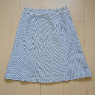 エムエフエディトリアル(m.f.editorial)のスカート 膝丈 グレー系(ひざ丈スカート)