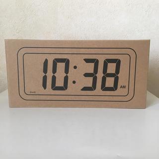 MUJI (無印良品) - 無印 デジタル時計 中