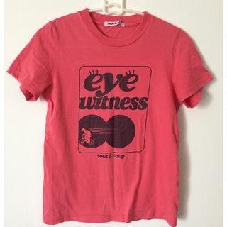 トゥアクー(tout a coup)のトゥ ア クー tout a coup Tシャツ ピンク M(Tシャツ(半袖/袖なし))