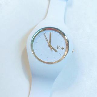 アイスウォッチ(ice watch)のicewatch ホワイトゴールド(腕時計)