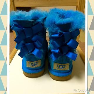 アグ(UGG)のUGG 子供用ブルー15.5cm(その他)