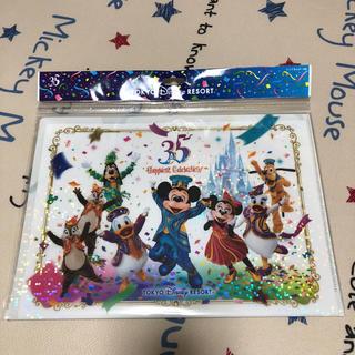 Disney - ディズニーリゾート 35周年 実写グッズ クリアホルダー9枚セット ランド シー
