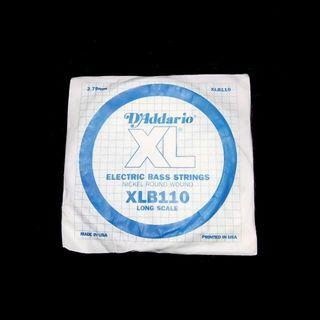 送料無料 ダダリオ D'Addario XLB110 4弦 エレキベース弦 バラ(弦)