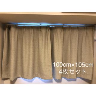 ムジルシリョウヒン(MUJI (無印良品))の無印 カーテン レースカーテン 4枚セット(カーテン)