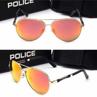 ポリス(POLICE)のPOLICE サングラス 新品 大特価 レッド レンズ ケース付き(サングラス/メガネ)