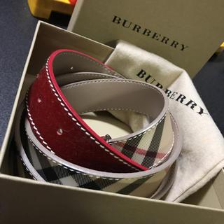 バーバリー(BURBERRY)のBurberry ベルト 新品(ベルト)