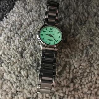 アルバ(ALBA)の腕時計 セイコー  アルバ蓄光文字盤 美品(腕時計)