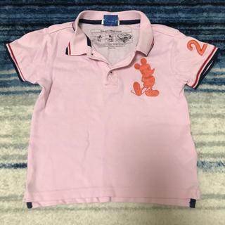 ビームス(BEAMS)のBEAMS&ミッキーコラボポロシャツ 110cm(Tシャツ/カットソー)
