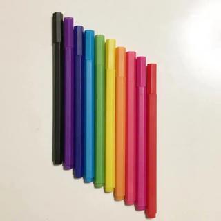 MUJI (無印良品) - 無印 六角カラーペン