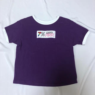 セブンパーセントモアピンク(7% more PINK)の7%morepink トップス(Tシャツ(半袖/袖なし))