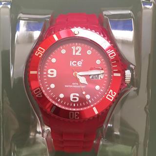 アイスウォッチ(ice watch)の美品!Ice Watch  Deep Red アイスウォッチ ディープレッド(腕時計(アナログ))
