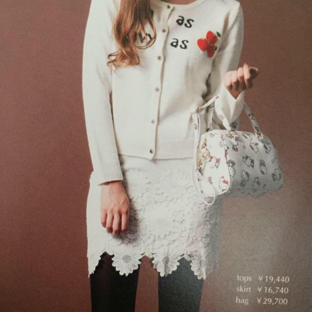 Nina mew(ニーナミュウ)のnina mew カタログ スカート レディースのスカート(ミニスカート)の商品写真