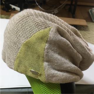 トランク(TRUNK)のTRUNK 麻 ニット帽(ニット帽/ビーニー)