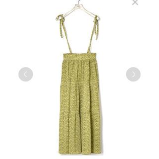 ダブルクローゼット(w closet)のダブルクローゼット 小花柄ティアードスカート(ロングスカート)