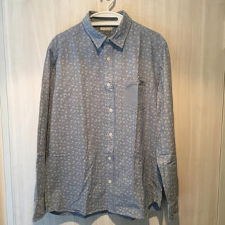 GU - 花柄ワイシャツ