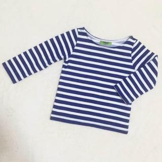 シマムラ(しまむら)のしまむら OP1st ボーダーTシャツ 90(Tシャツ/カットソー)
