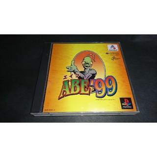 プレイステーション(PlayStation)のPS ABE99 (エイブ99) / 帯・アンケートハガキ・操作説明書付き(家庭用ゲームソフト)
