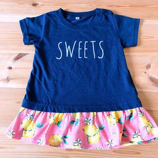 シマムラ(しまむら)のチュニック Tシャツ 100㎝(Tシャツ/カットソー)