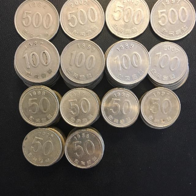 貨幣 韓国 コインの通販 by hana.t's shop|ラクマ