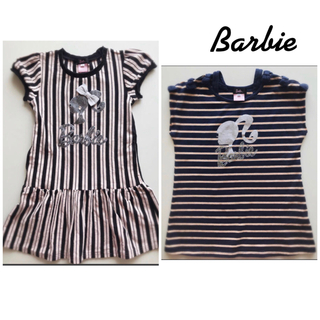 バービー(Barbie)のBarbie *ワンピース&Tシャツセット(ワンピース)