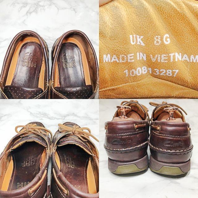 Clarks(クラークス)の【Clarks】269 クラークス デッキシューズ サイズ8 メンズの靴/シューズ(デッキシューズ)の商品写真