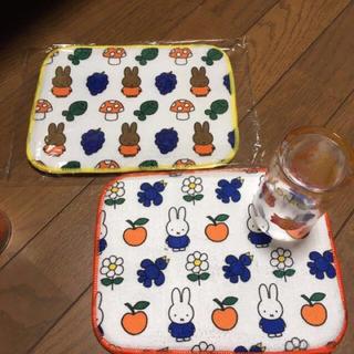 ミッフィー水切りマット2枚組(キッチン小物)