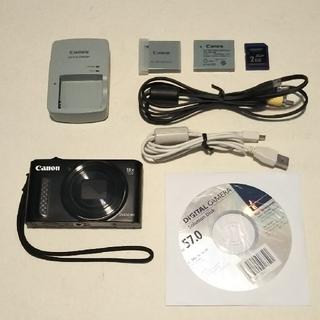 キヤノン(Canon)のCANON デジタルカメラ PowerShot SX610HS WiFi(コンパクトデジタルカメラ)