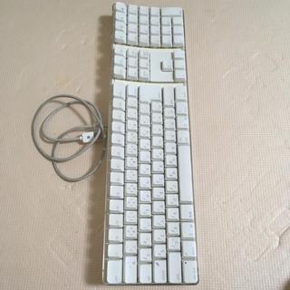 マック(MAC)の【中古】Macキーボード(PC周辺機器)