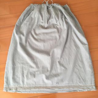 メルローズクレール(MELROSE claire)のメルローズクレール インド綿スカート(ロングスカート)