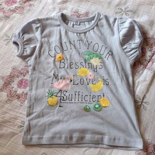 シマムラ(しまむら)の女の子用シャツ(新品未使用、  90)(Tシャツ/カットソー)