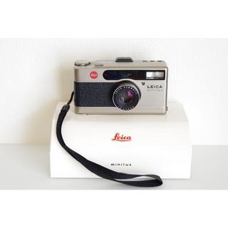ライカ(LEICA)のライカミニルックス Minilux F2.4/40mm・データーバック付・超美品(フィルムカメラ)