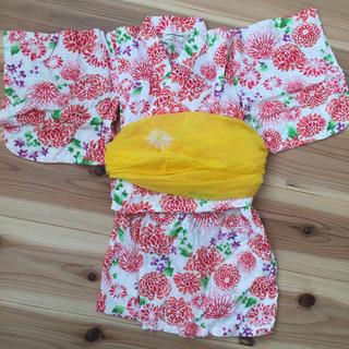 アンパサンド(ampersand)の専用 ベビー浴衣 3点セット 女の子 90サイズ(甚平/浴衣)