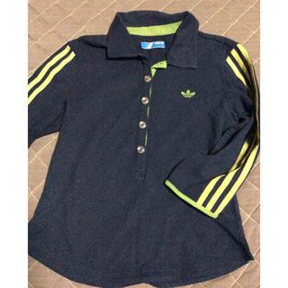 アディダス(adidas)のadidas originals アディダス 3本ライン七分袖シャツ カットソー(Tシャツ(長袖/七分))