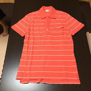 ユニクロ(UNIQLO)のUNIQLO オレンジ メンズ XL(ポロシャツ)