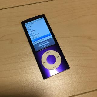 アップル(Apple)のiPod nano 8G(ポータブルプレーヤー)