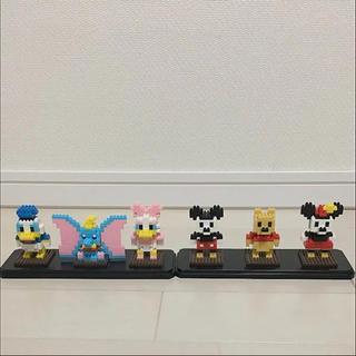 ディズニー(Disney)のディズニー ナノブロック LEGO ミニフィギュア プラモデル ケース付き(その他)