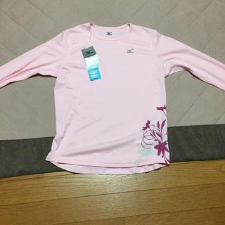 ミズノ(MIZUNO)のMIZUNOの丸首長袖シャツ(Tシャツ(長袖/七分))
