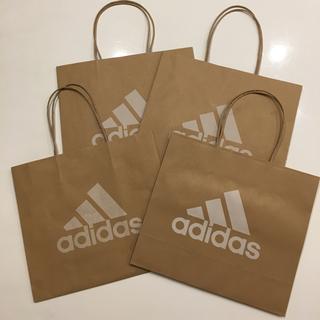 アディダス(adidas)のadidas紙袋 アディダスショッパー 4枚(ショップ袋)