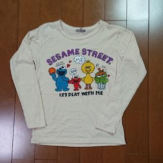 セサミストリート(SESAME STREET)の長袖Tシャツ   セサミストリート  Mサイズ(Tシャツ/カットソー)