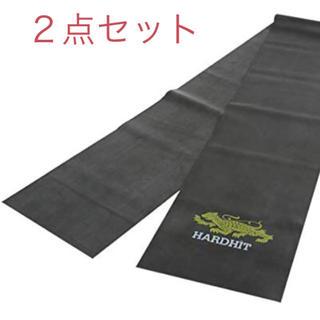 ハードヒット(Hard Hit)のHARDHIT フィットネスバンド チューブ 120cm×15cm 2点セット(その他)