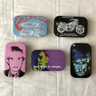 アンディウォーホル(Andy Warhol)のUHA味覚糖 のど飴 アンディ ウォーホル コラボ缶(その他)
