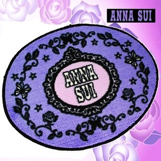 アナスイ(ANNA SUI)の希少●ANNA SUIアナスイ ト 楕円形マット 正規品(玄関マット)
